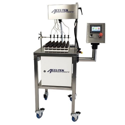 Automatic Indexing Mini Pinch Timed-flow Volumetric Filling Machines