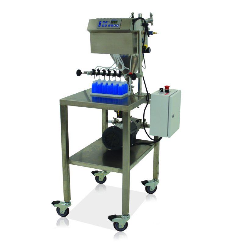 Mini-Pinch Timed-flow Volumetric Filling Machines