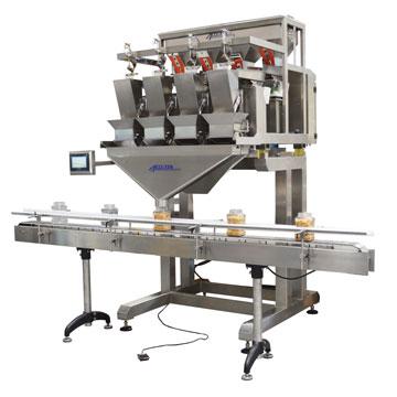 Vibratory Weigh Filler Net Weight Filling Machines